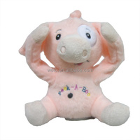 2015 New plush peek-a-boo pig