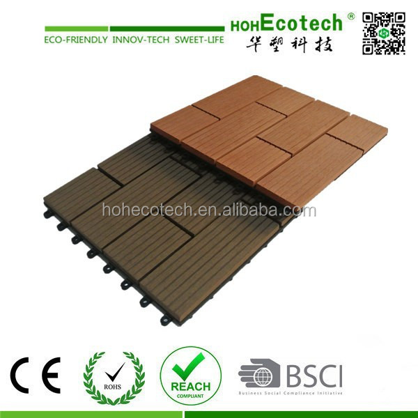 easy install wpc wood plastic composite patio deck <strong>tile</strong>
