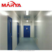electronic easy installation hardwall acrylic air shower clean booth/ cleanroom for LCD industry
