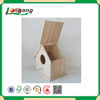 animal protection use cheap unfinished wood hanging bird house