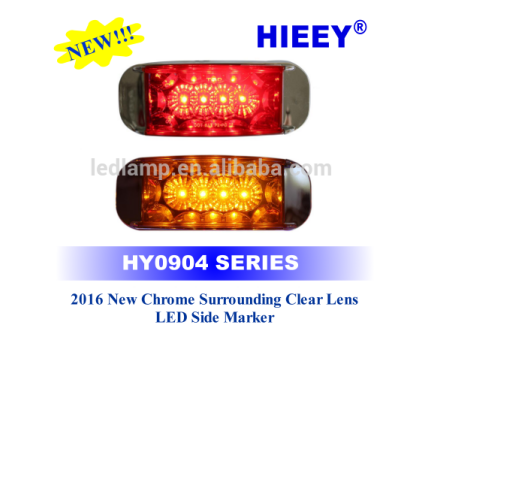 side light Type and 24V Voltage 12v-24v trucks led side marker light led