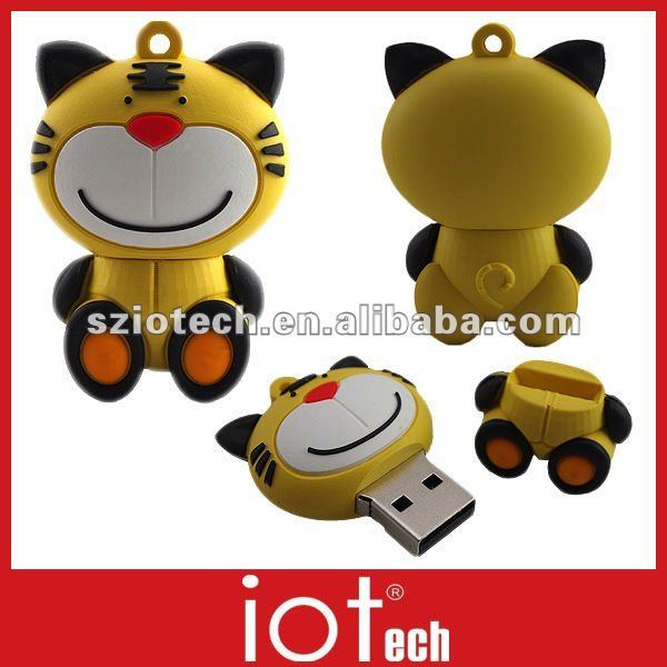 Best Brand of USB Drives Tiger Shaped 8GB