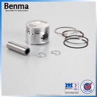 nice streetbike GY6-50 piston with top quality, piston ring for motorcycle