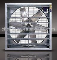2015 industrial fan shutter louvered wall mounted square-shaped exhaust fan