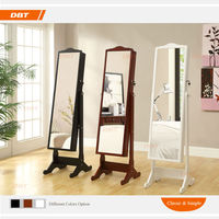 lady classic mirrored jewelry cabinet bedroom India furniture