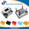 China made high quality plastic Beer/Coke Crate Injection Moulds