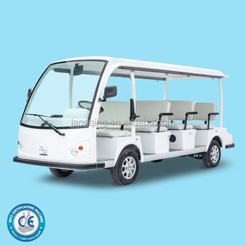 Competitive Price Electric Mini Shuttle Bus model LQY111B for hotel