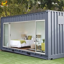 2017 the latest design luxury 20ft prefab container homes for sale 20 footer container house with 3 bedroom house container home