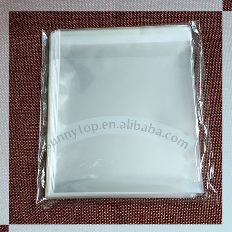 custom size and print OPP self adhesive bag opp bag