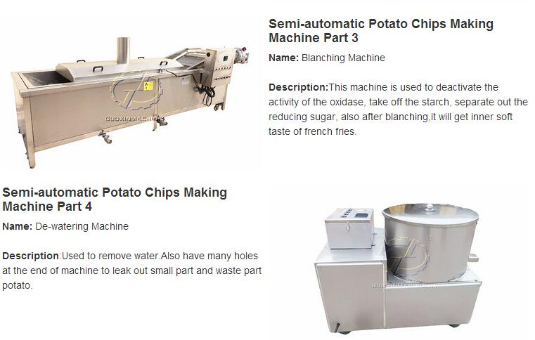 Fully Automatic Potato Chips Making Machine