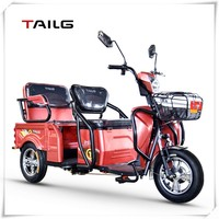 TAILG 500W 48V20AH electric tricycle for olders for emtertainment
