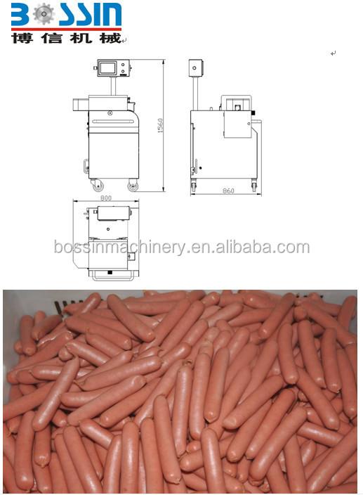 Sausage Shearing Machine Sausage Sheared Machine Casing