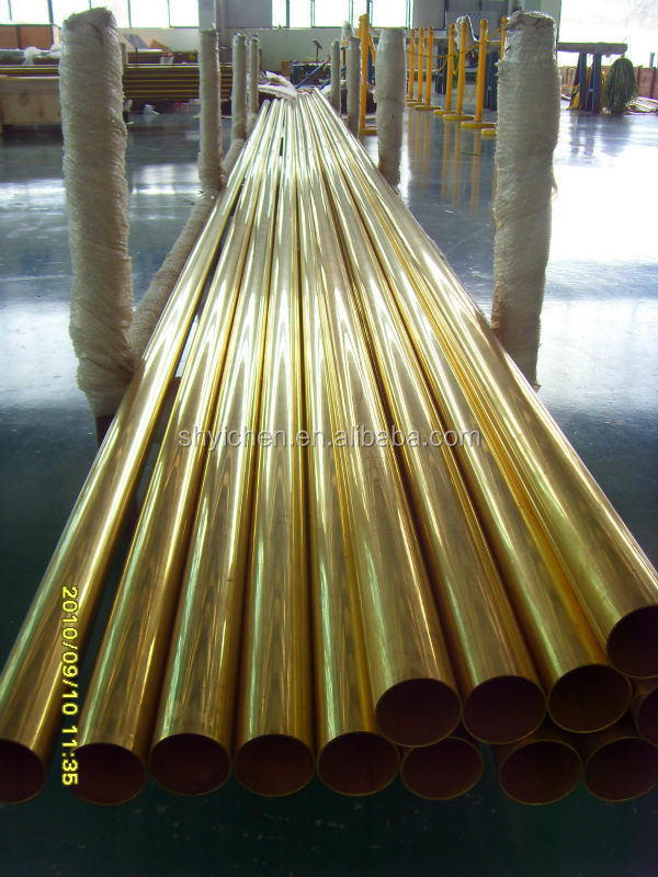 ASTM B88 Seamless Copper Water Tube For General Plumbing