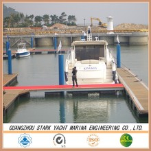 Marina Floating wharf with qualified Aluminum Alloy Frame