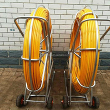 high quality 8mm fiberglass rodder/duct rodder for Cable laying