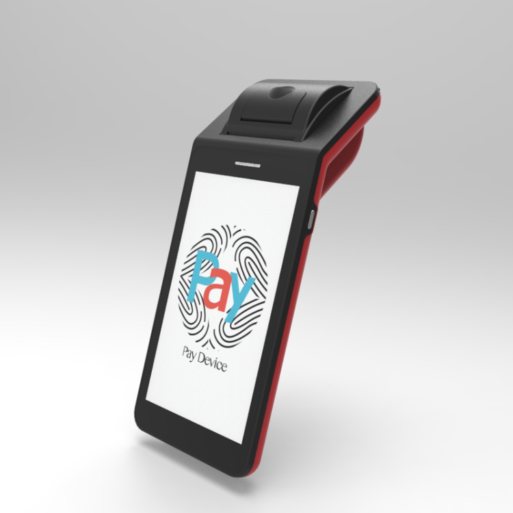 Mobile Payment Touch Screen POS Terminal with Battery