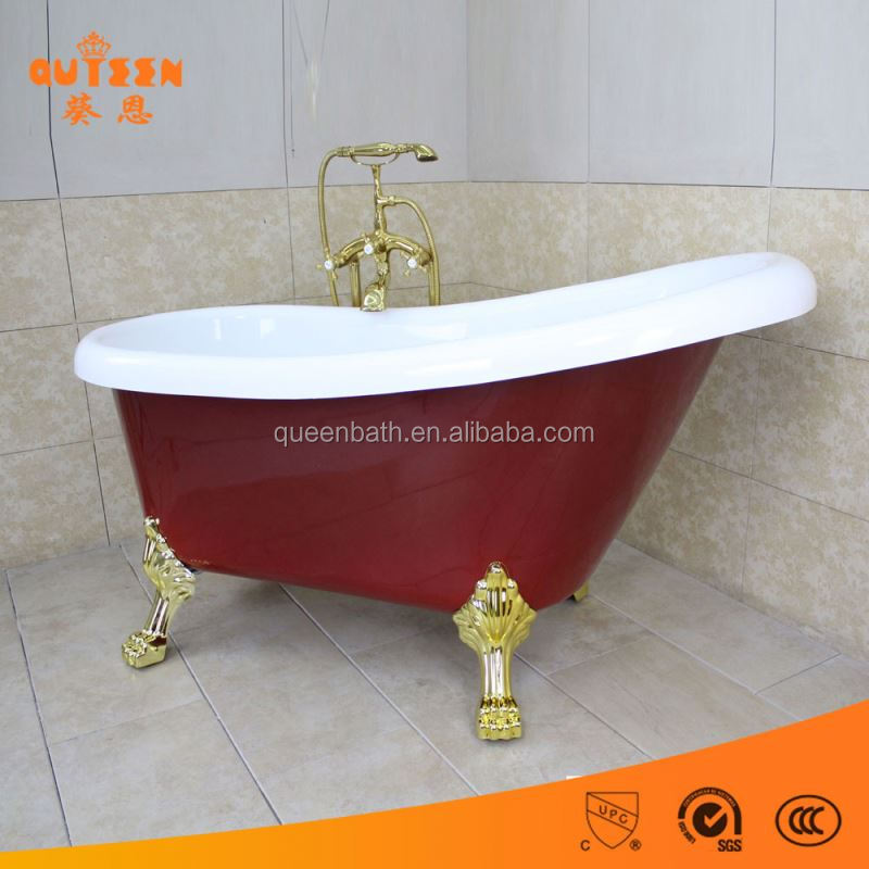 JR-820 bathroom small cheap acrylic wooden bathtub outdoor