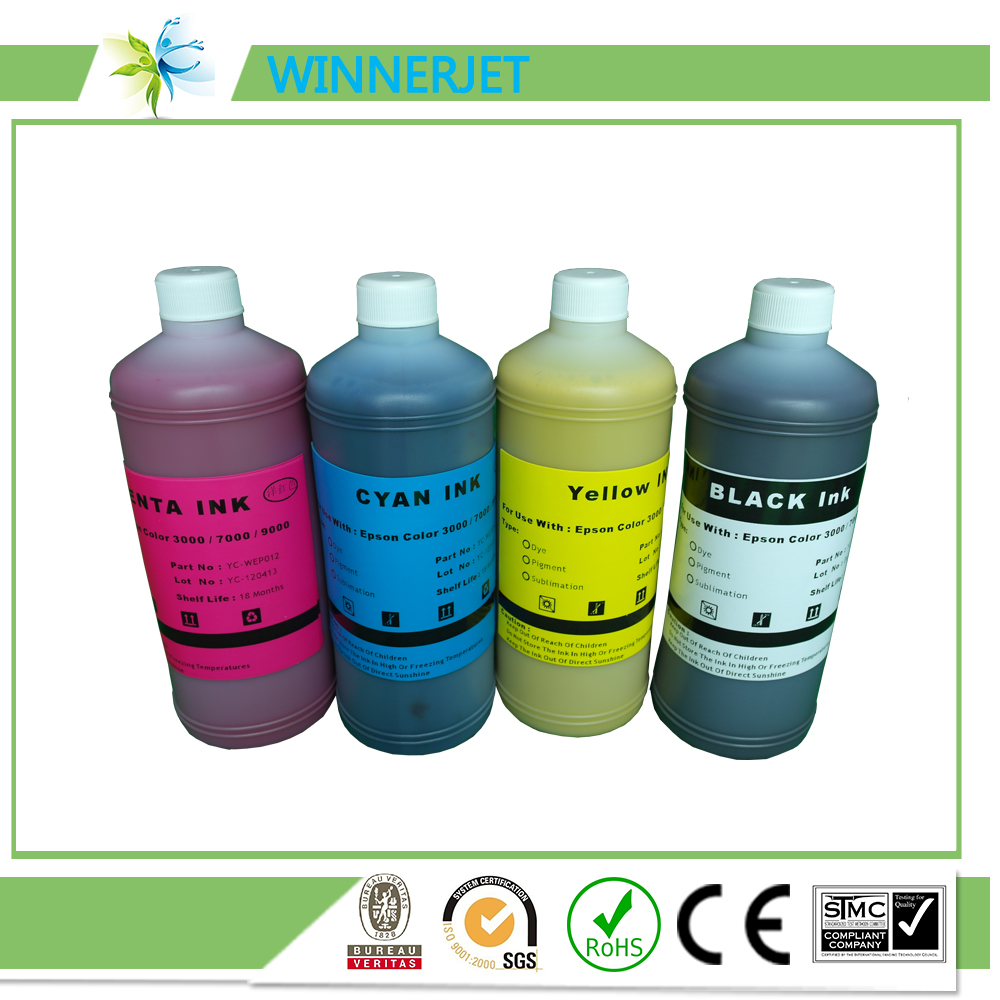Hot selling!!! Printing ink for EPSON Color 3000 7000 7500 9000 9500 Vivid Pigment Ink