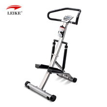 body building fitness stepper with hydraulic system