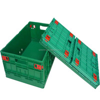 uncollapsible standard size plastic gridding crate/container