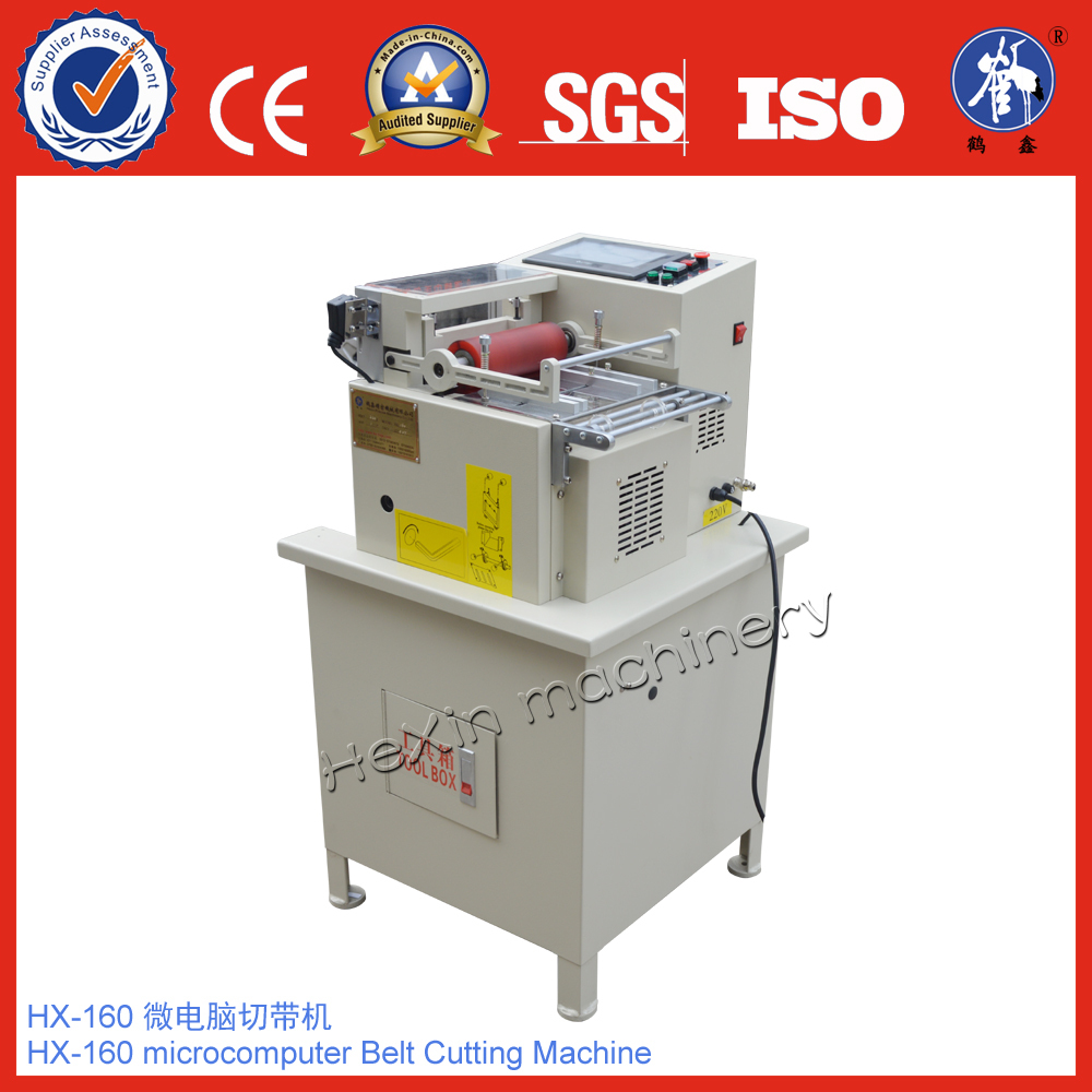 Automatic hot blade PP webbing cutter
