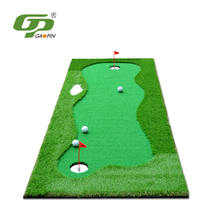 hot cake used practice carpet golf putting green mat for indoor / outdoor