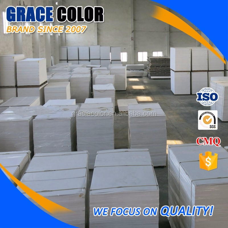 High density hard white pvc a4 plastic sheet