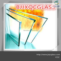 hot sale 15mm clear fireproof glass with manufacture price