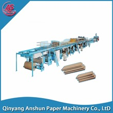 high performance paper box corrugated board making machine
