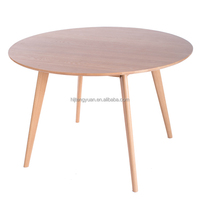 Luxury Top Grade Good Quality Round Coffee Table Wood