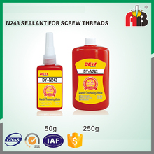High Strength Flange Sealant 243 thread locking adhesive