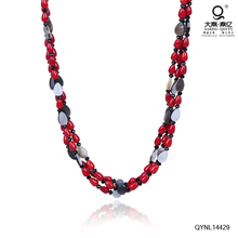 shell necklace jewellery for red clothes 50cm shell beads jewellery