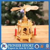 angel tealight candle holder antique christmas wooden pyramid for decorations