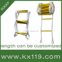 2015 new safety product High Strength Nylon folding safety evacuation ladder