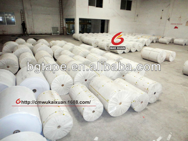 Double Silicon Coated Glassine Paper