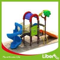 LIBEN cheap classic style kids outdoor play equipment for hot sales