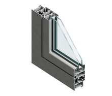 European standard extruded aluminum window frame