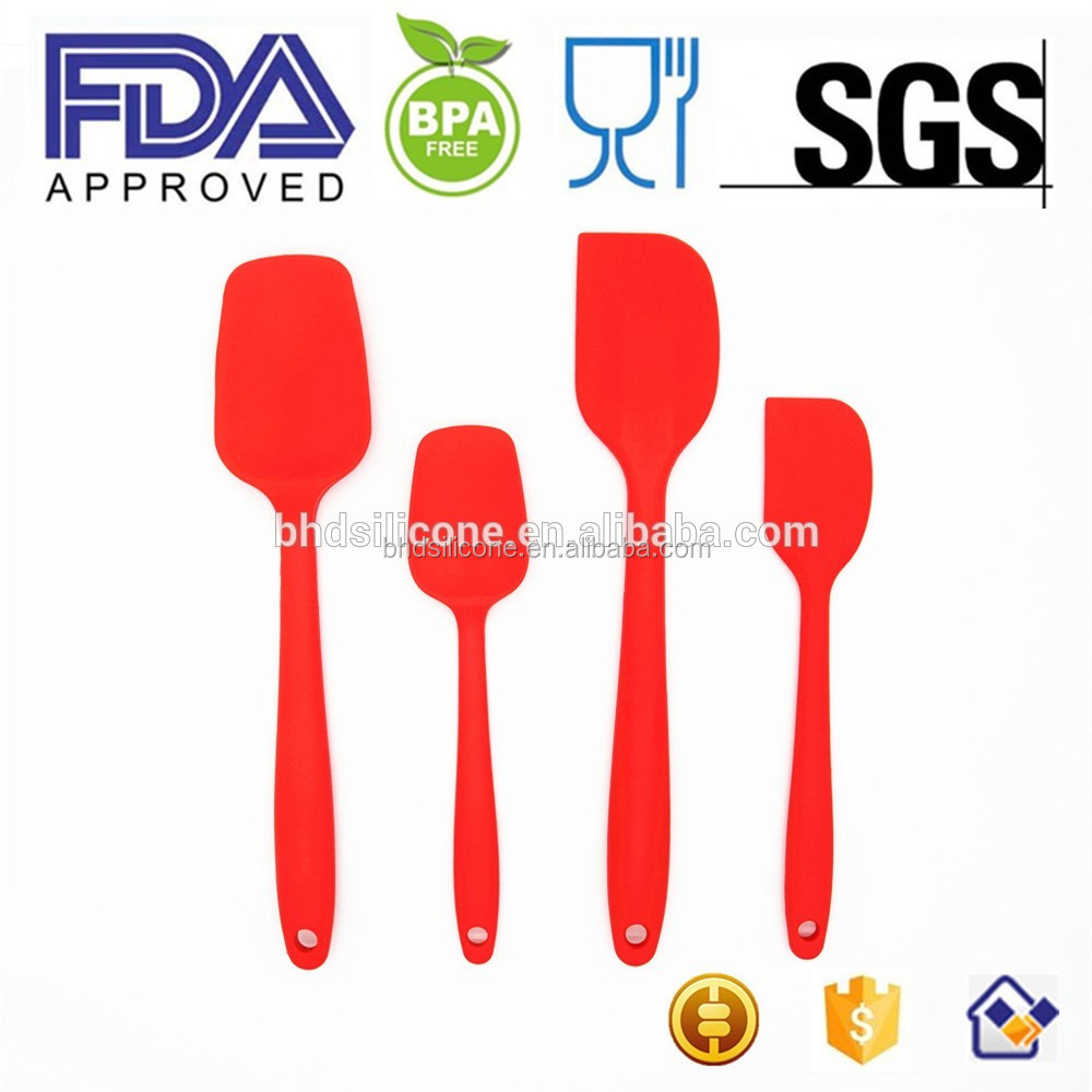 Silicone Spatula, Silicone Spatula Set for Kitchen and Cooking Utensil/Tools For Scraping, Baking, Cooking & Decorating