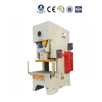 JH21 80T High precision High speed single crank C-frame fixed CNC pneumatic power press machine with good price
