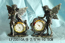 Special pewter gift handmade top level table home clock