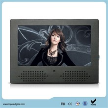 7 inch 800*480 200nits indoor lcd advertising screen for supermarket shelf, 7 inch portable dvd player
