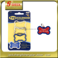 Bone Pet Tag Silencer Male 3 Pack