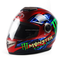PP shell motorcycle full face helmet for sell