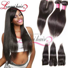 20 Inch Virgin Remy Brazilian Hair Weave&Brazilian Invisible Part Wig Remy Human Hair&Remy Goodness Hair