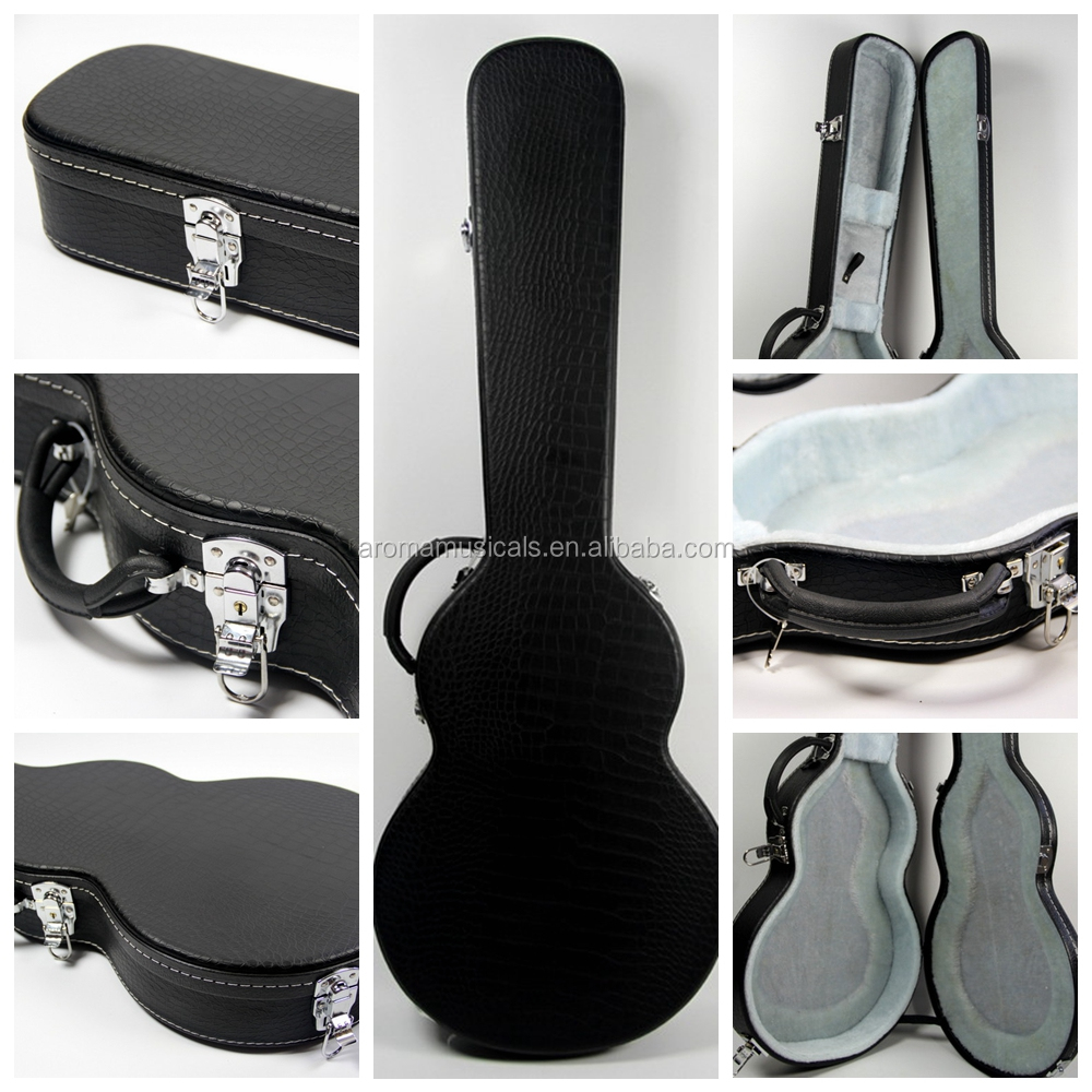 Aroma Colorful Electric Guitar Hard Leather case