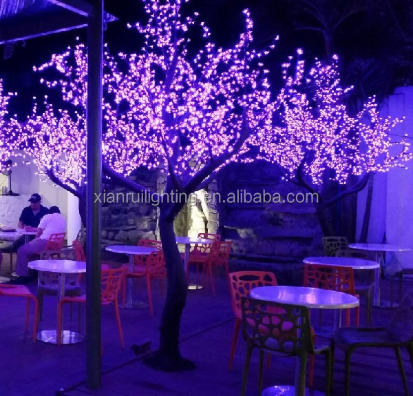 Buy Outdoor Wedding Decorations : Outdoor luminous tree lighting led crystal wedding decorations buy