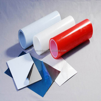adhesive pe film in roll plastic film for steel transparent foil surface mulch