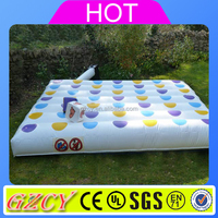 2016 popular inflatable twister game,big family game infaltable twister