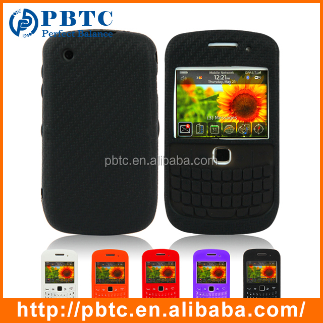 Case For Blackberry 8520 / 9300 , Mobile Phone Silicone Keyboard Case