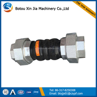 double sphere bellow rubber expansion joint